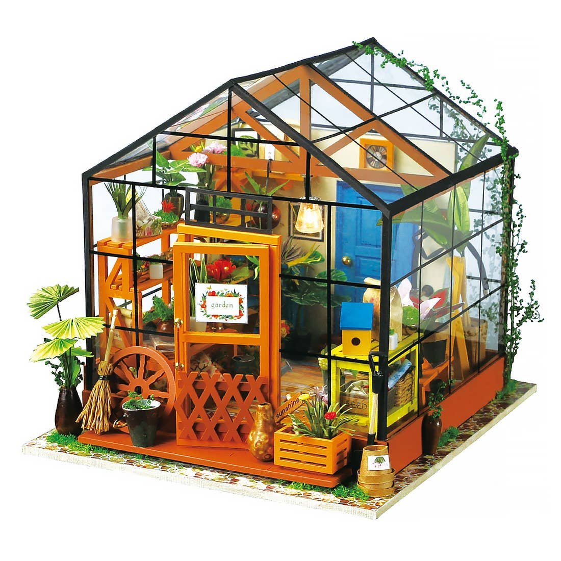 Image of DIY Dollhouse Kit - Flower House