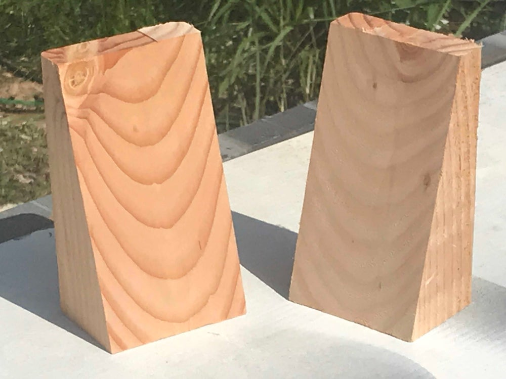 Image of Pair of 15 degree wall mounting blocks