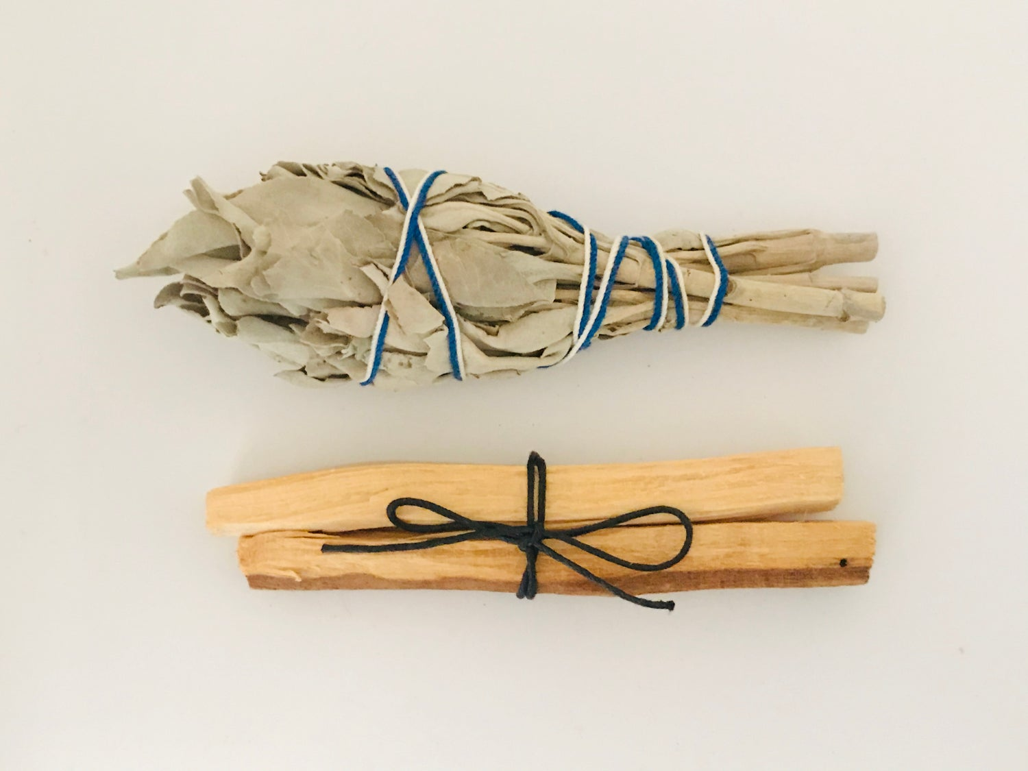 Duo Smudge Pack - White Sage & Palo Santo