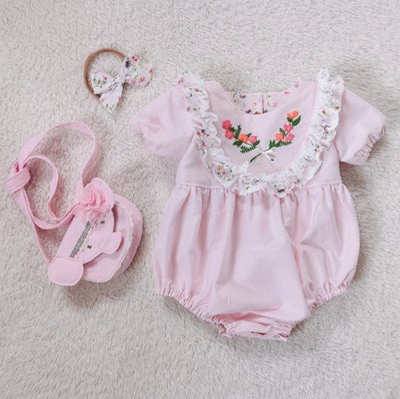 Image of Custom Iris Romper/Dress