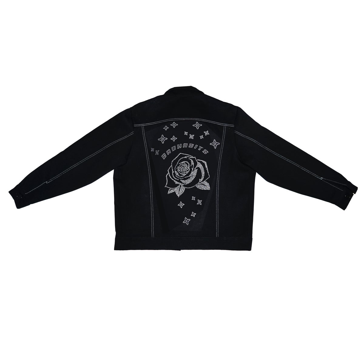 Image of S€cR€T De$iR€ Crystal Rose Jacket