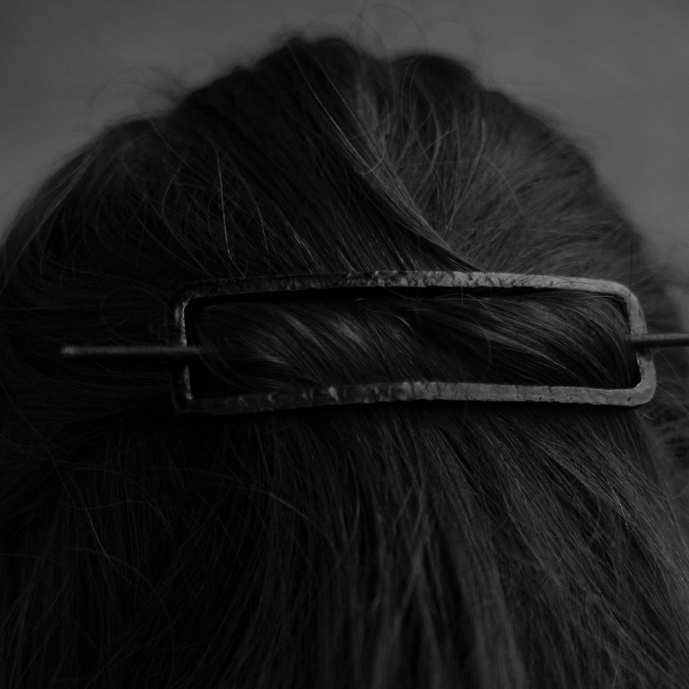 Image of Iron hair barrette ||