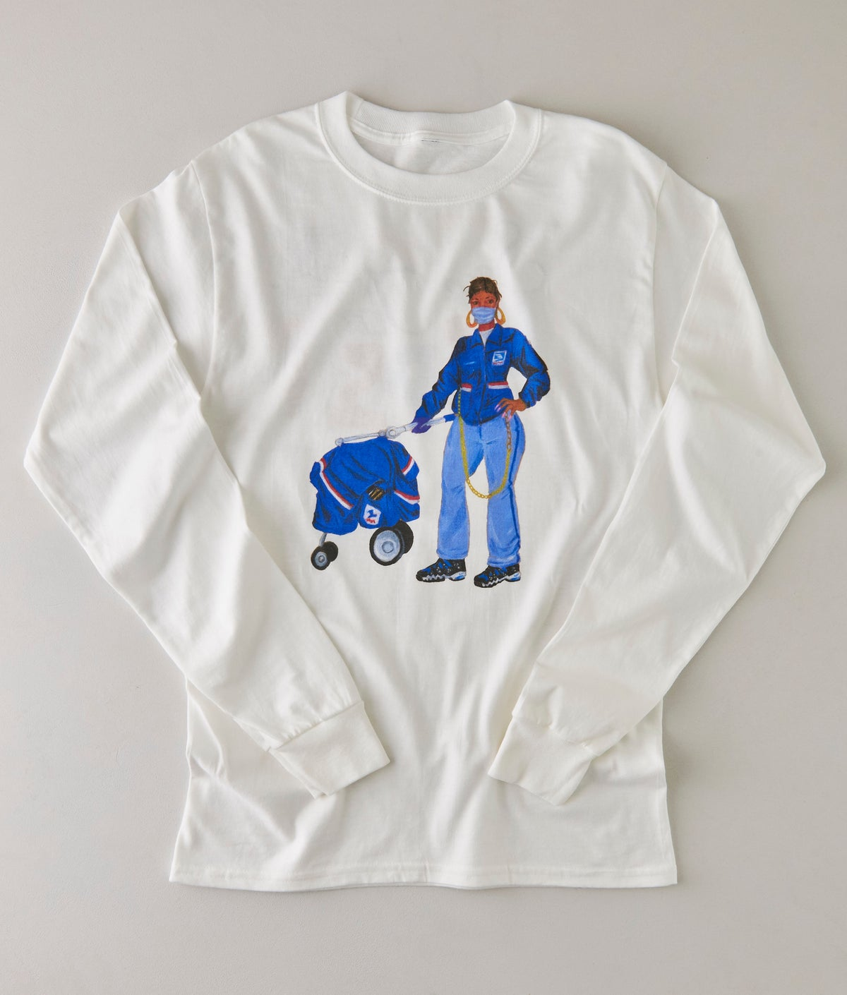 SAVE THE USPS LONG SLEEVE TSHIRT