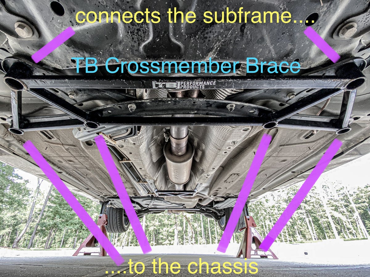 Image of FOCUS ST // TB Performance Crossmember Brace