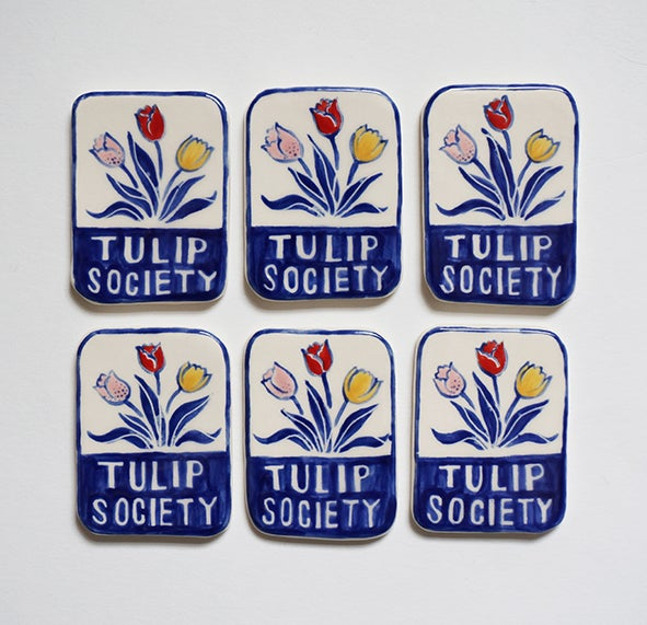 Image of Tulip Society - Brooch
