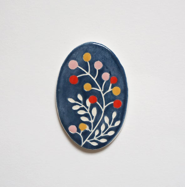 Image of Merry Berry - Brooch