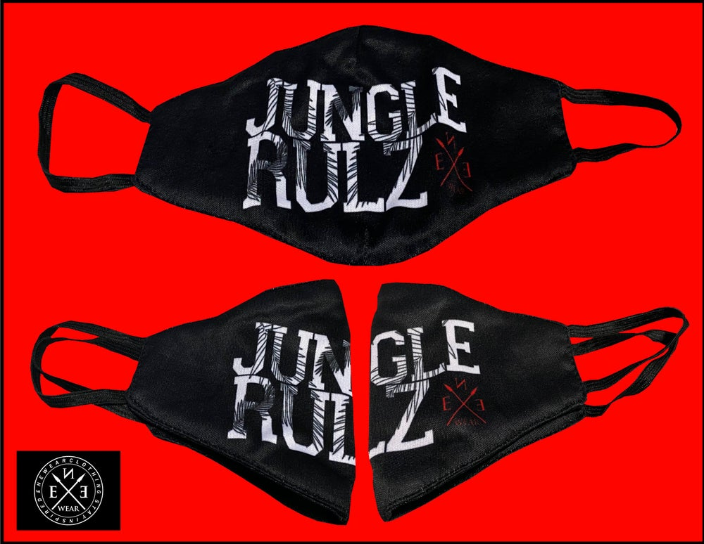 Image of JUNGLE RULZ MASK