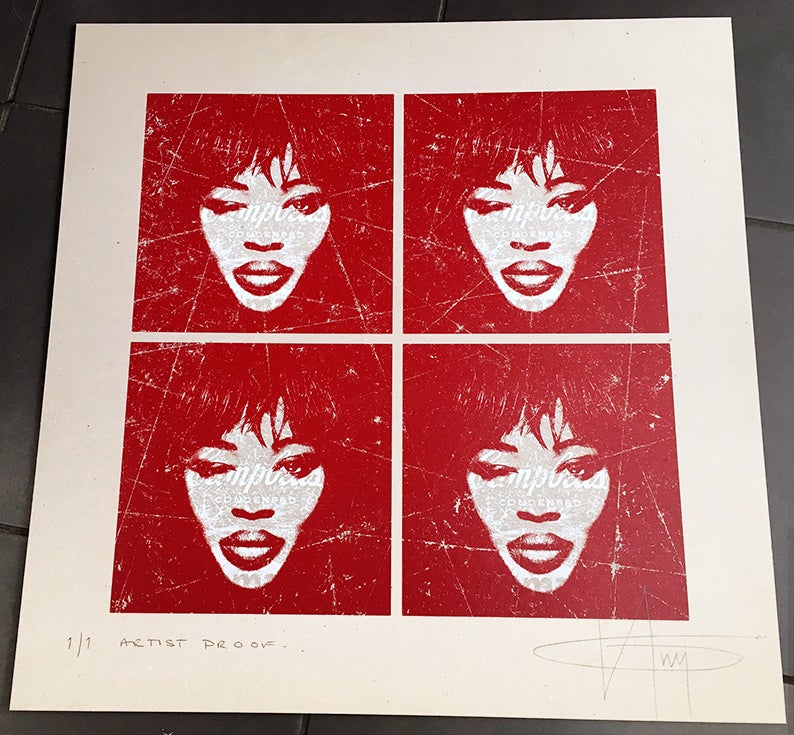 Image of NAOMI CAMPBELL'S QUAD - 1/1 TEST PROOF