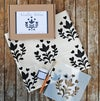 DIY Stencil Kit- Folk Tea Towel Stencil Kit