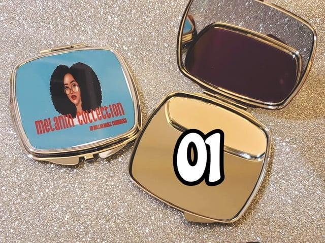 "Image of ""MELANIN"" Compact Mirror"