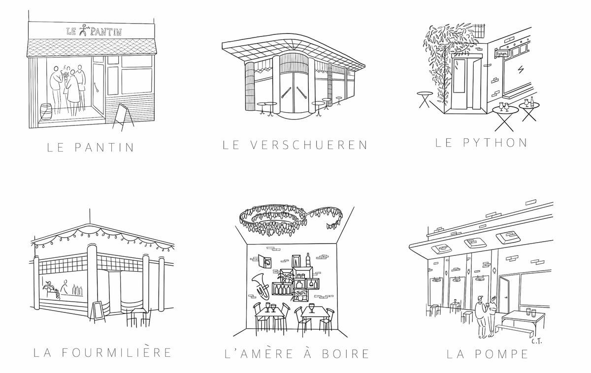 """Crée ta propre affiche """"Bruxelles-les-Bars"""""""