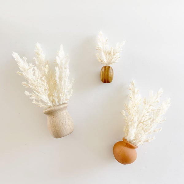 Image of Pampas Grass Dollhouse Decor