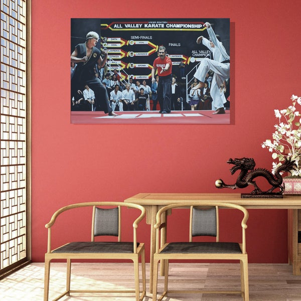 Image of FINISH HIM **SPECIAL EDITION XL CANVAS (48 x 32 inches)**