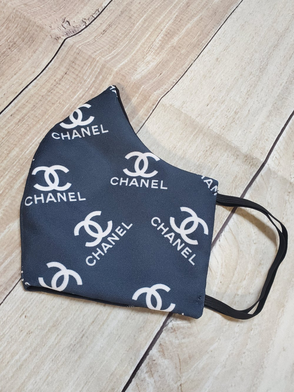 Image of CHANEL INSPIRED FASHION MASK