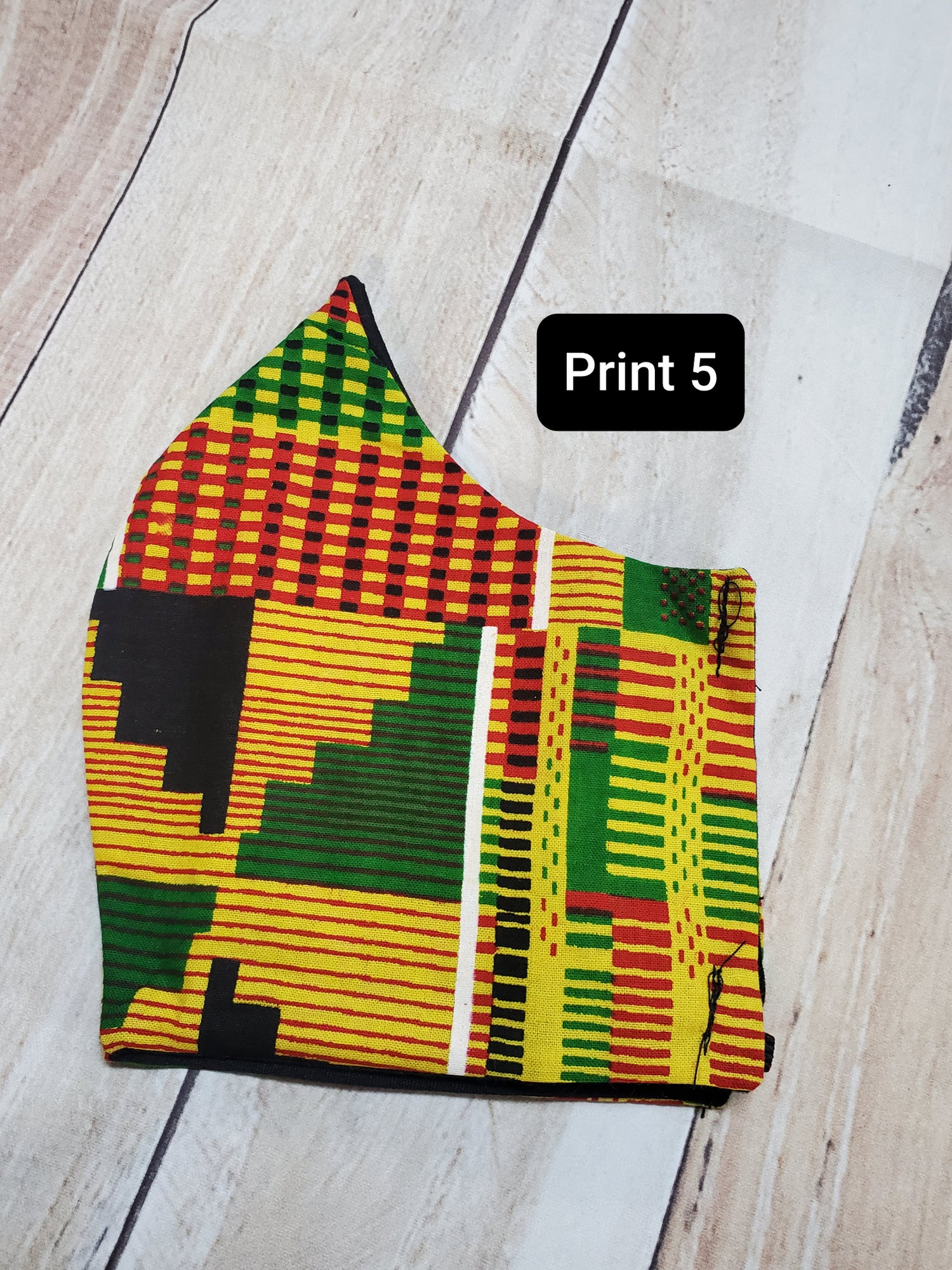 Image of AFRICAN INSPIRED FASHION MASK