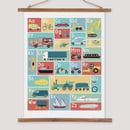 Image 1 of Transport Alphabet Print