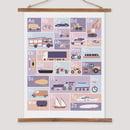 Image 2 of Transport Alphabet Print