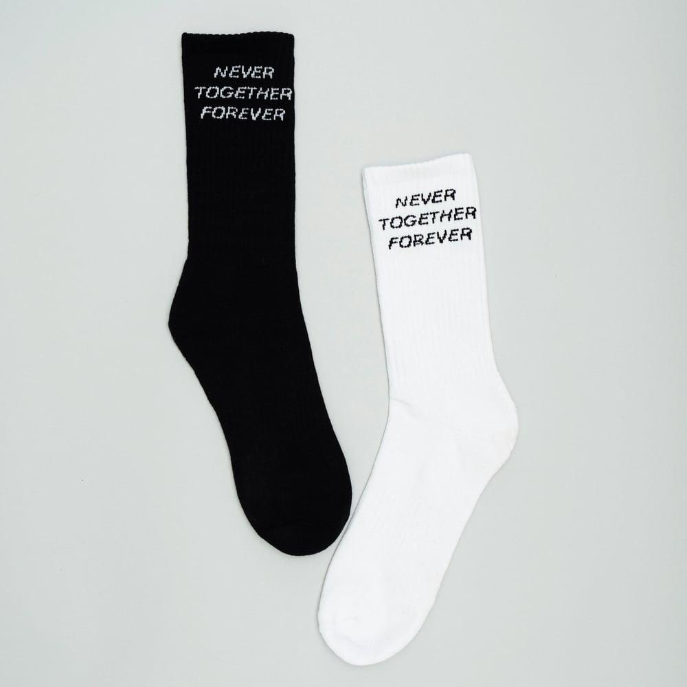 Never Together Forever Socks