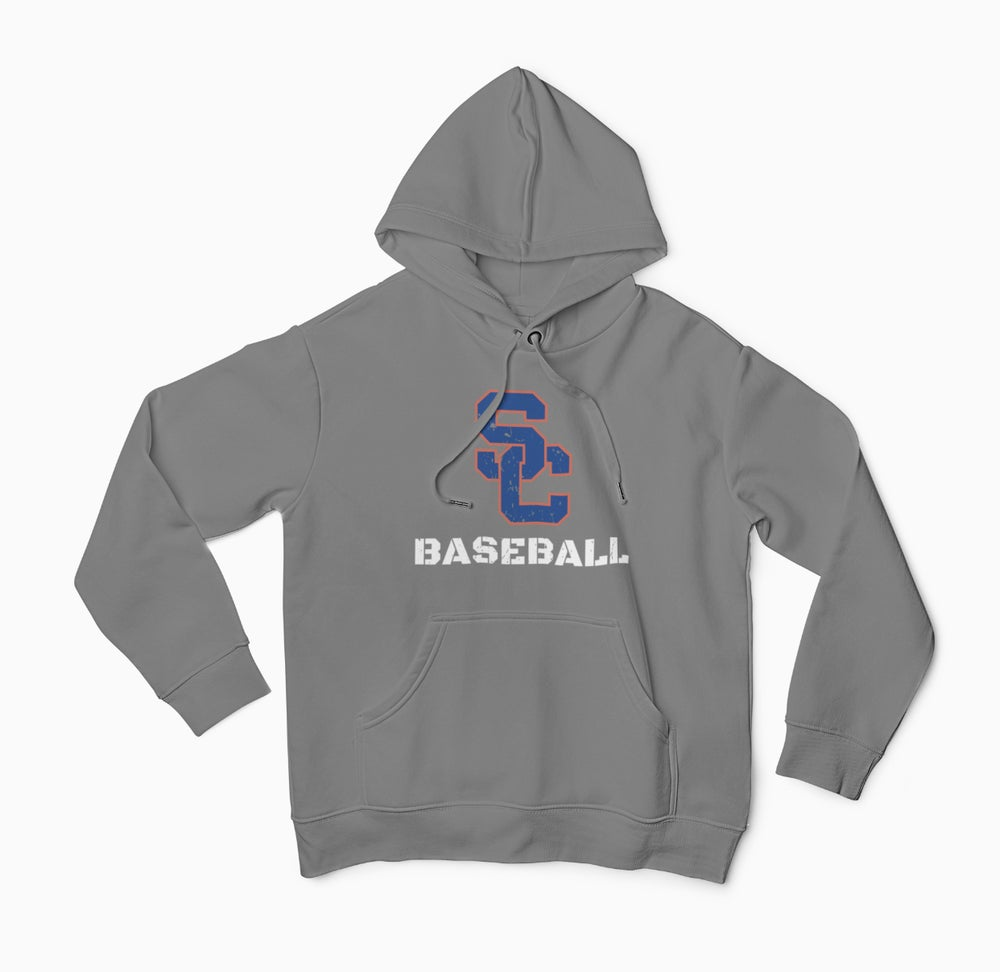 Image of  Southaven Charger Baseball Hoodie (SC Logo)