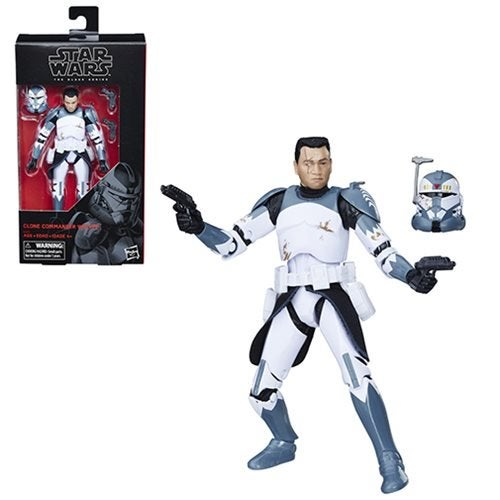 Image of Star Wars The Black Series Clone Commander Wolffe 6-Inch Action Figure - Exclusive