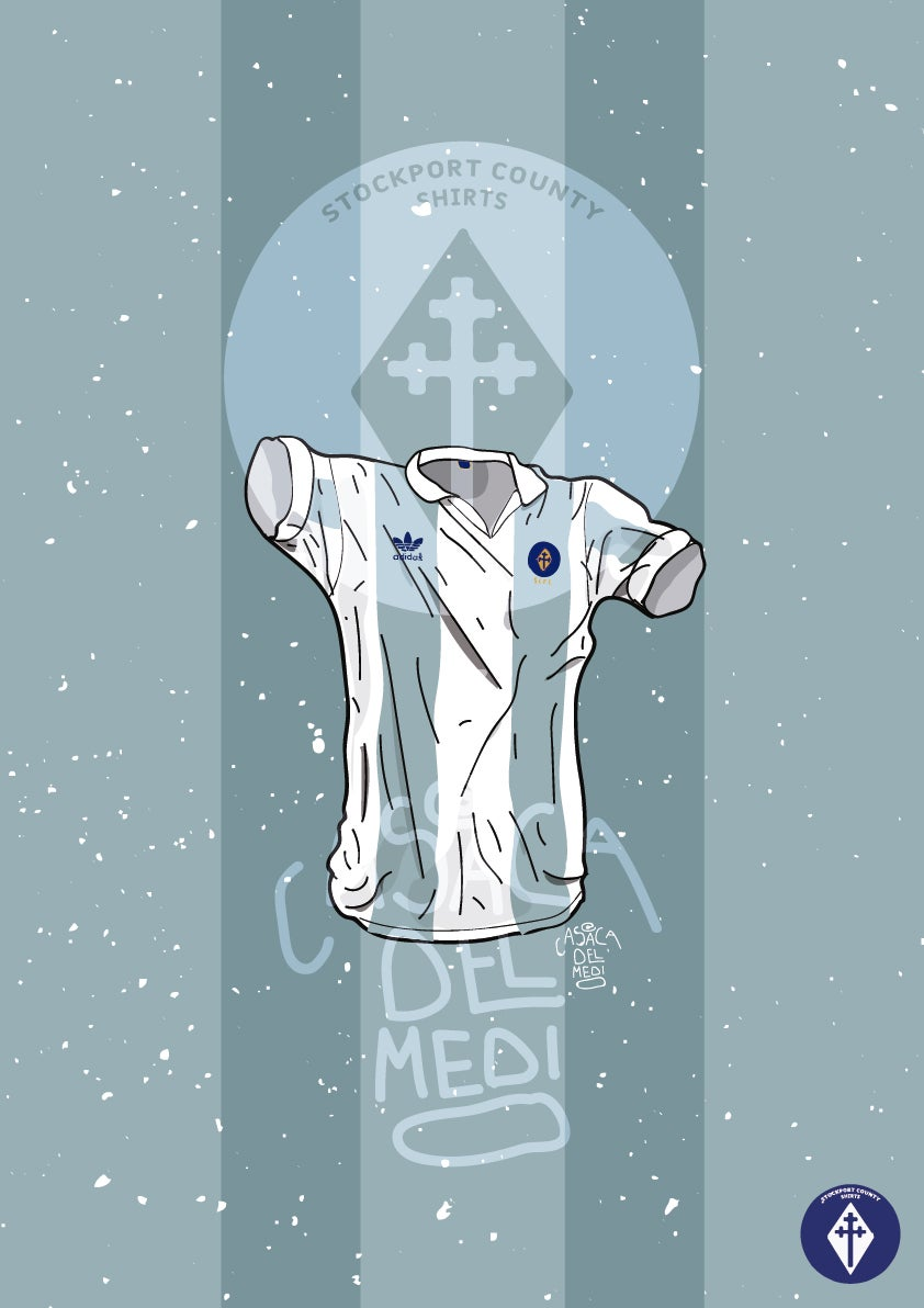 Image of Limited Edition adidas Argentina Shirt Print