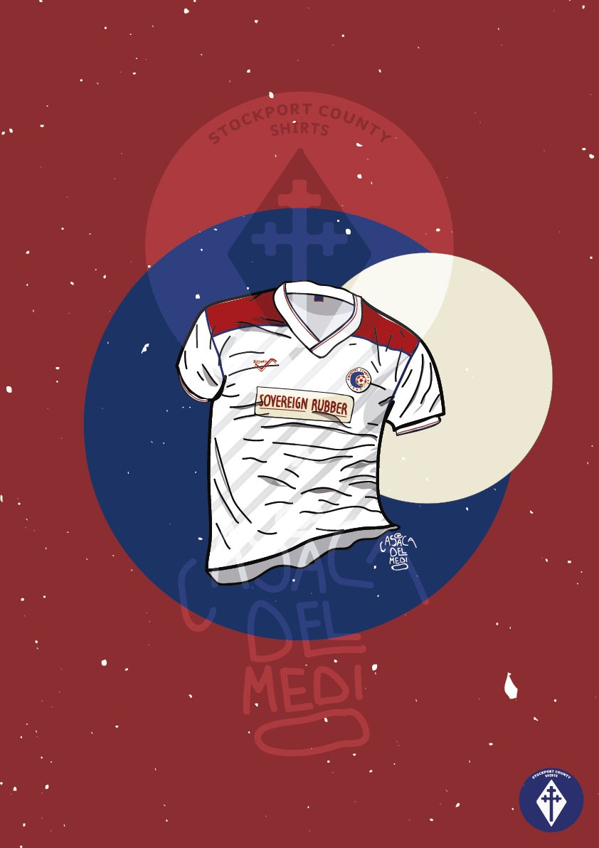 Image of Limited Edition 1989/90 Home Shirt Print