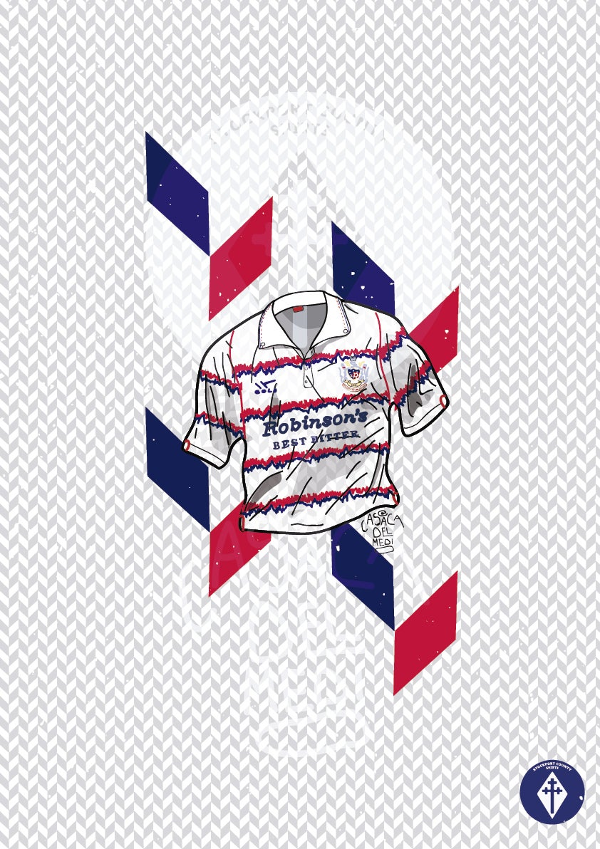 Image of Limited Edition 1992/93 Away Shirt Print