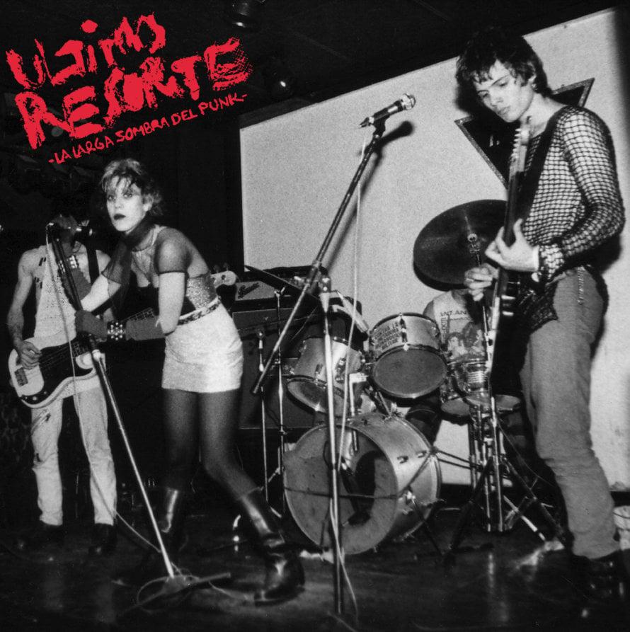 "Image of ULTIMO RESORTE ""La larga sombra del punk"" LP"