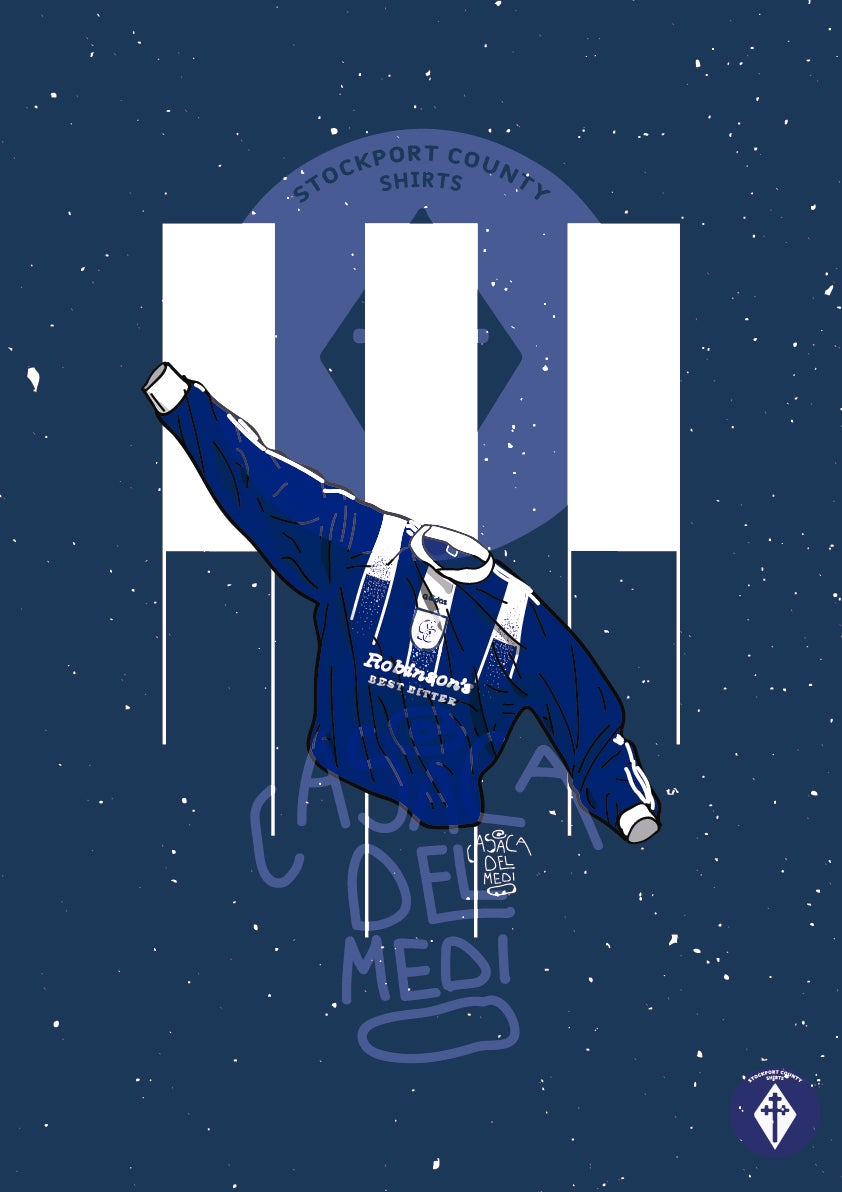 Image of Limited Edition 1996/97 Home Shirt Print