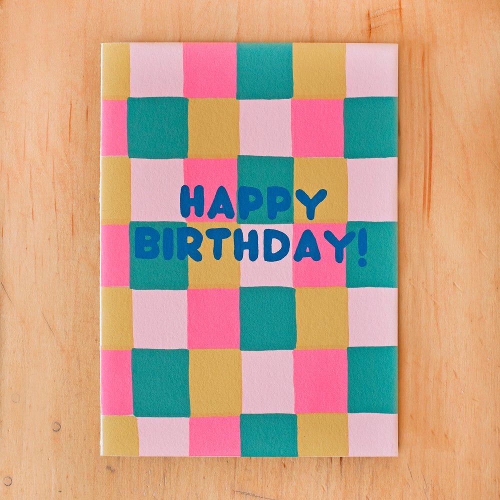 Image of Happy Birthday Squares