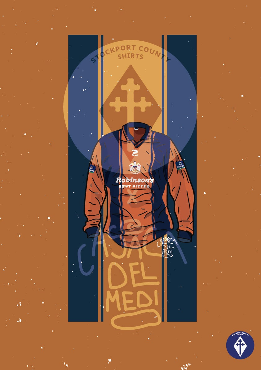 Image of Limited Edition 1999/00 Away Shirt Print