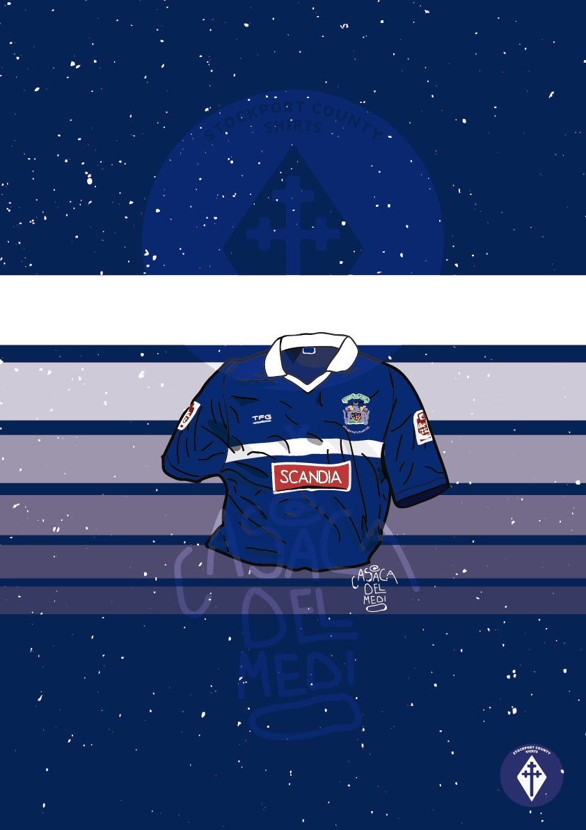 Image of Limited Edition 2006/07 Home Shirt Print