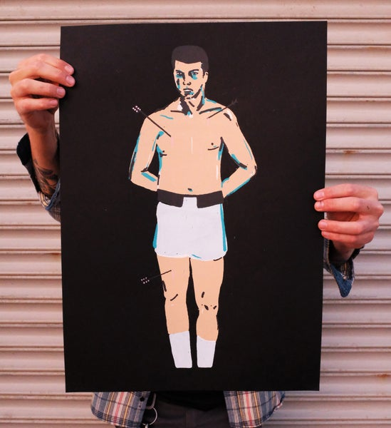 Image of 'Ali' Print