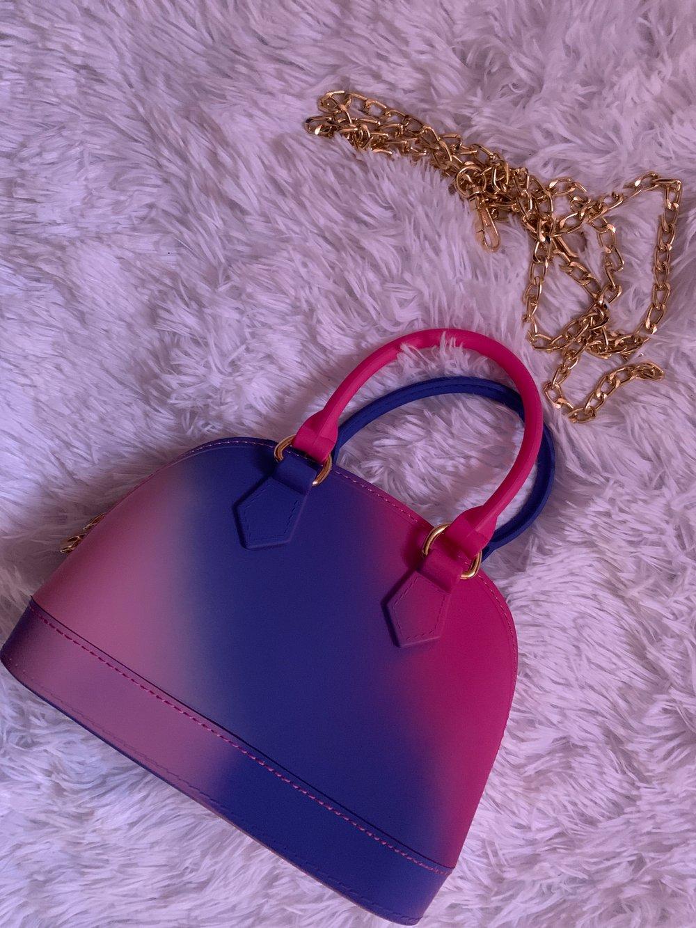 Pretty vibes satchel bag