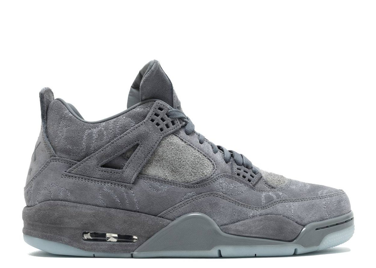Image of KAWS X AIR JORDAN 4 RETRO 'COOL GREY'