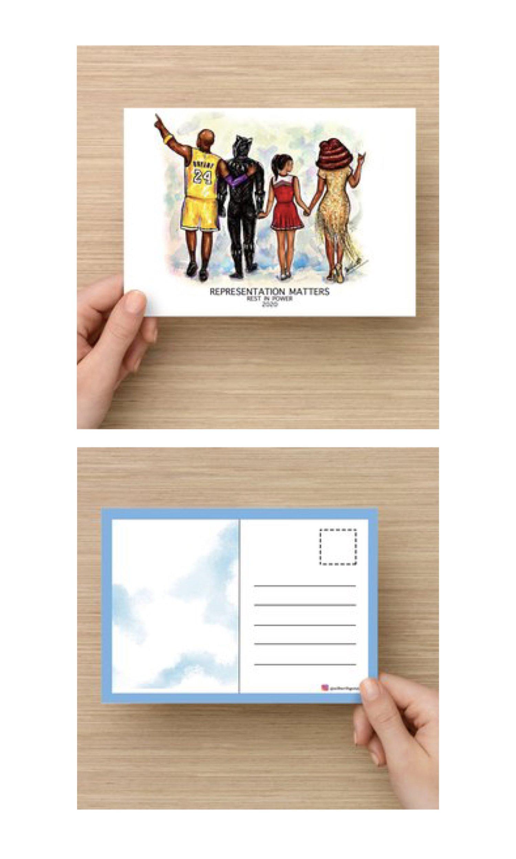 "Image of ""Representation Matters"" Postcard"