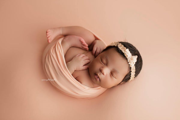 Image of Peach BabyPlush Wrap