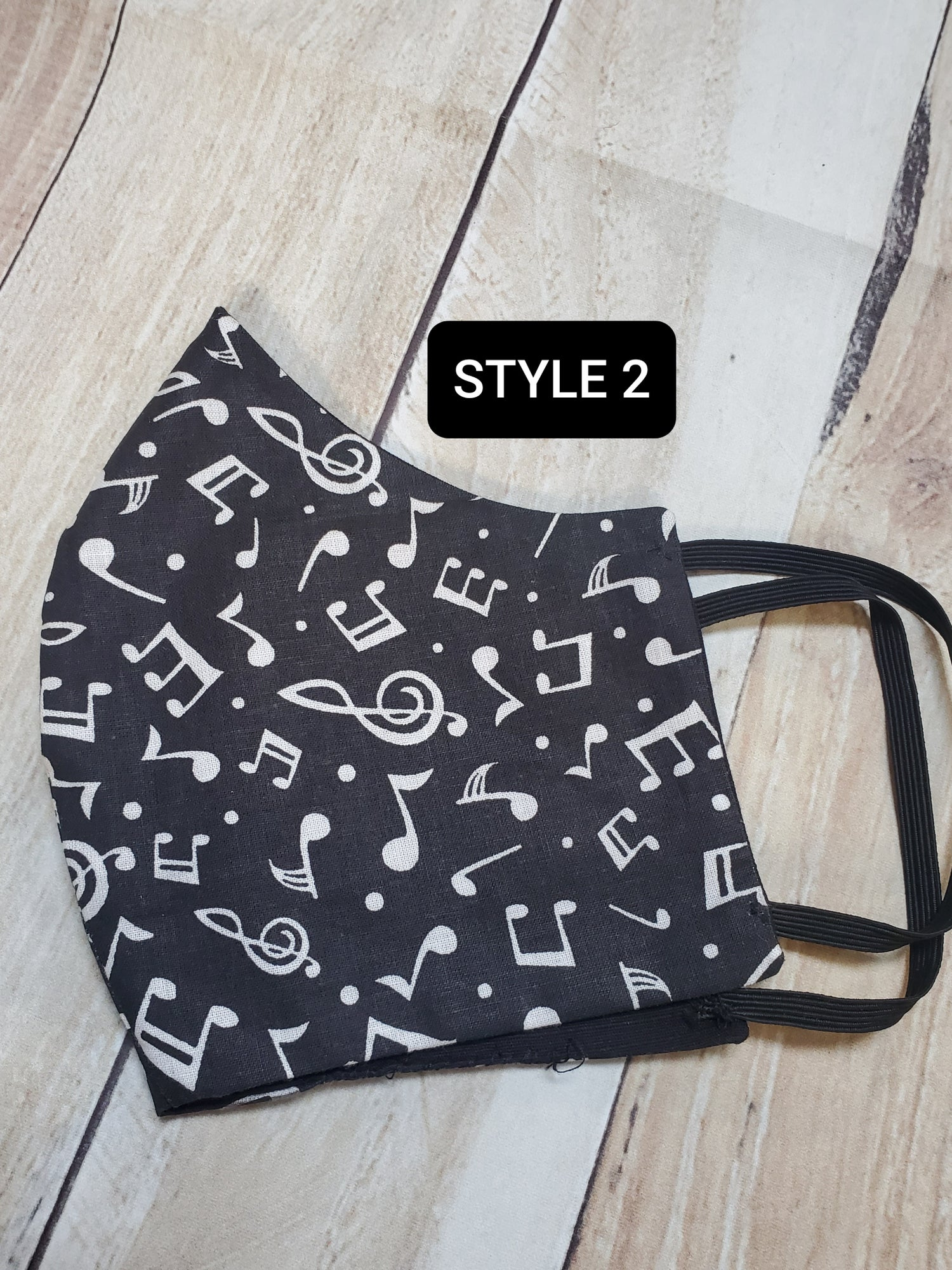 Image of MUSIC LOVERS FASHION MASK