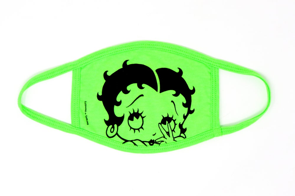 Image of Betty Boop - Betty Boop Face Masks