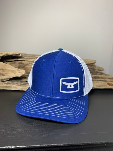 Image of Royal blue/ white w/ white logo