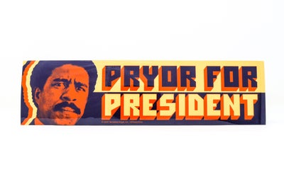 Image of Richard Pryor - Pryor For President Bumper Sticker