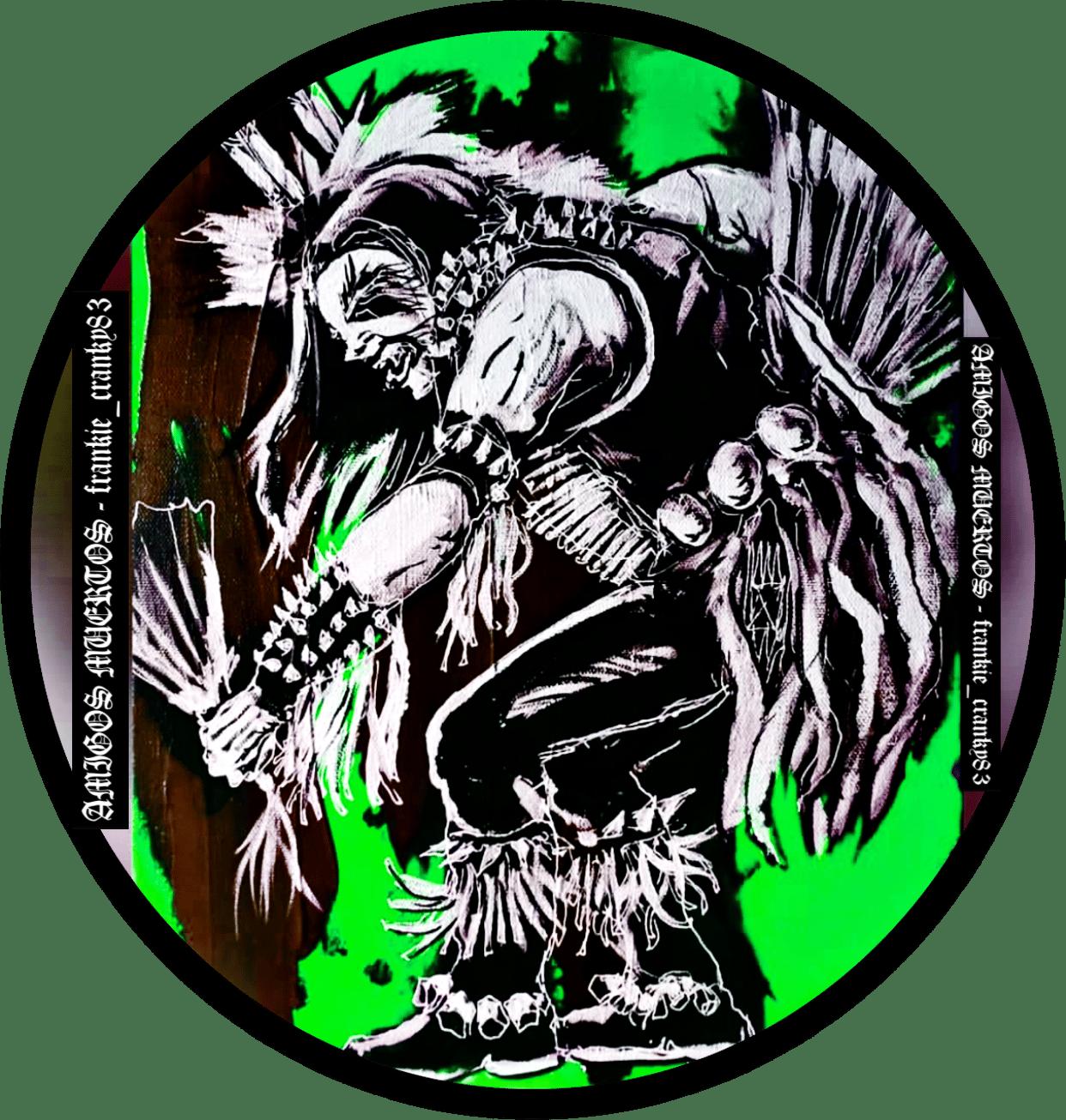 Image of Black Metal Indians ver 3