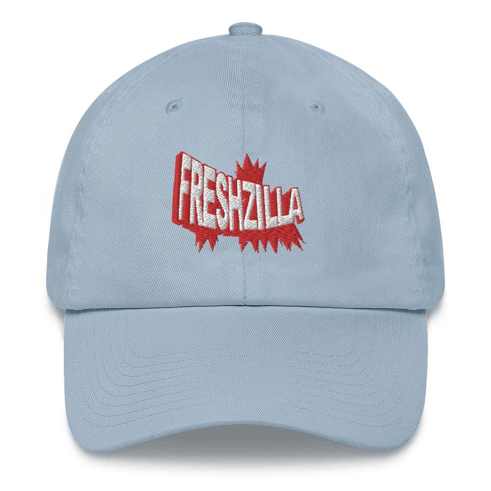 FRESHZILLA Red Logo Dad hat