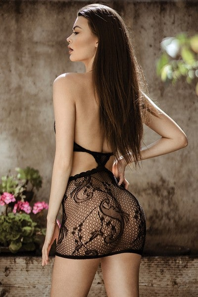 Image of #FlowerBomb Two Piece Net Set