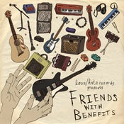 Image of LH004 - FRIENDS WITH BENEFITS - compilation CD