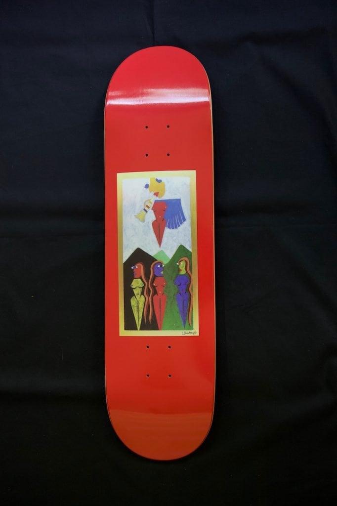 DAMN - Judgement Skateboard