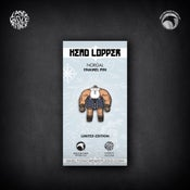 Image of Head Lopper: Limited Edition Norgal enamel pin!