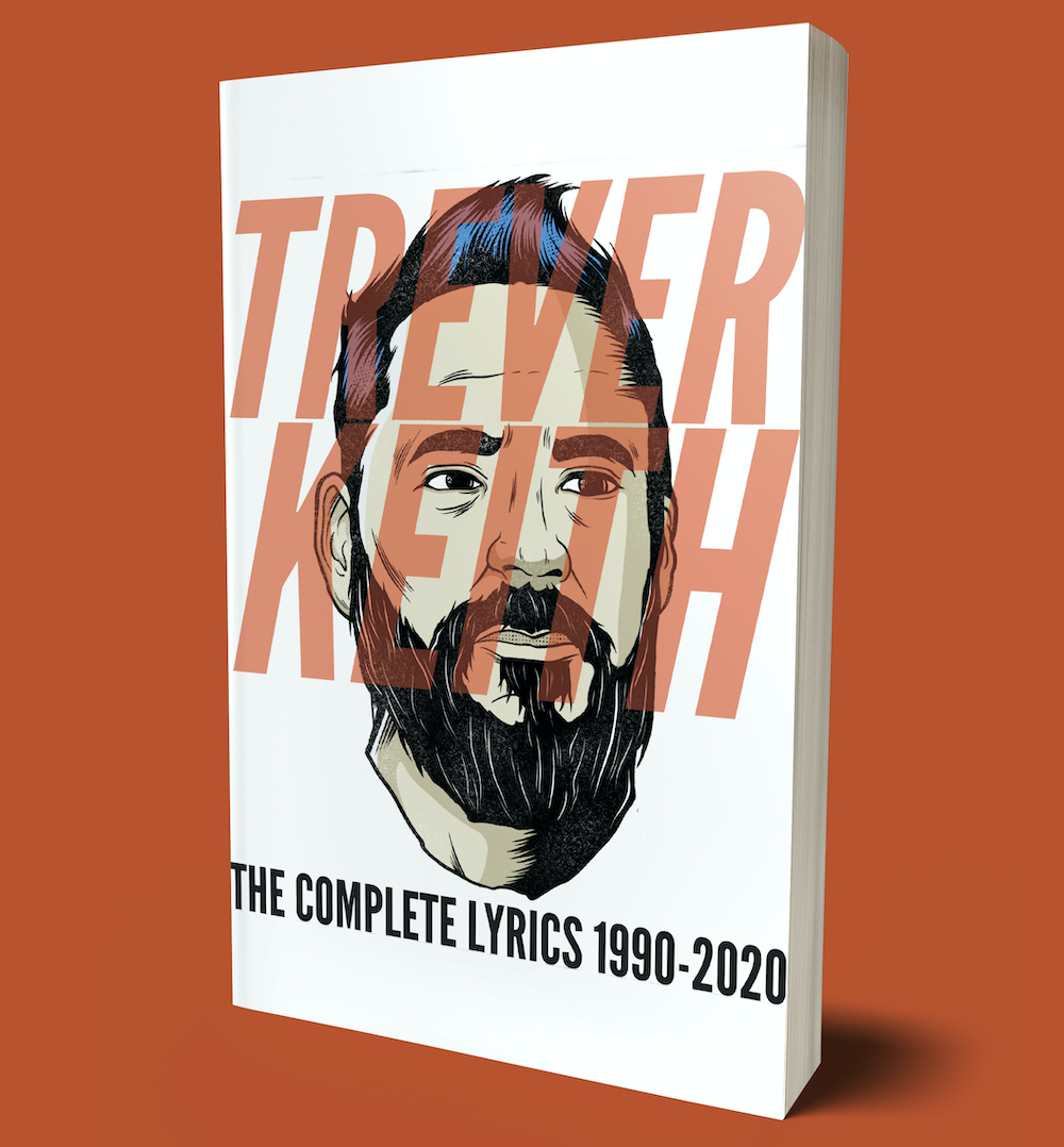 Image of Trever Keith - The Complete Lyrics 1990-2020 (paperback)