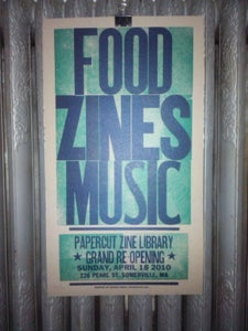 Image of Letterpress Printed Poster