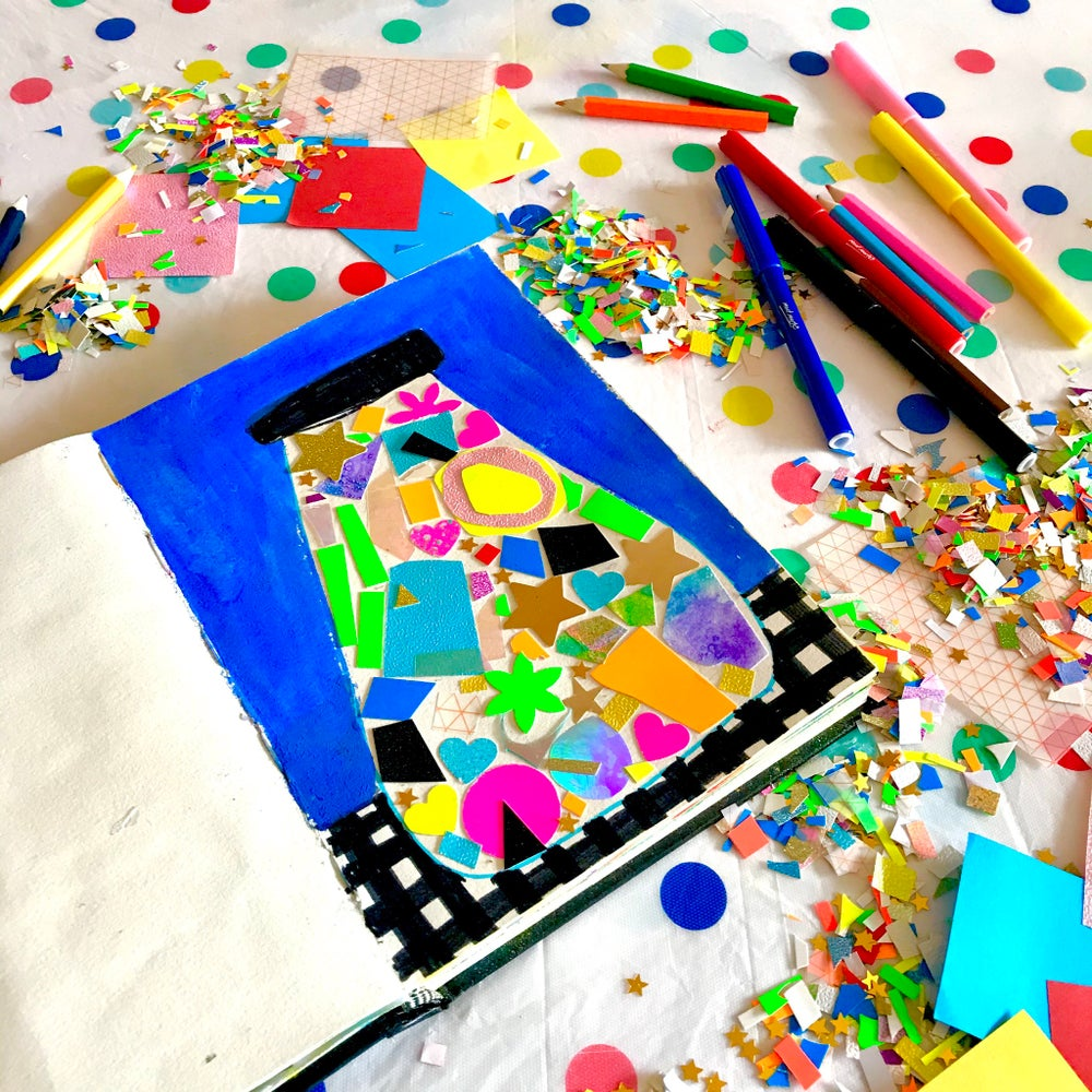 Image of BOXFUL OF ART - ART LESSONS IN A BOX